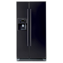 Bosch Side by Side Refrigerator Black