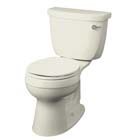 Cimarron™ Comfort Height™ two-piece round-front toilet