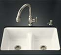 Deerfield® Smart Divide® undercounter kitchen sink
