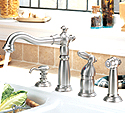 Delta Victorian Single Handle Kitchen Faucet