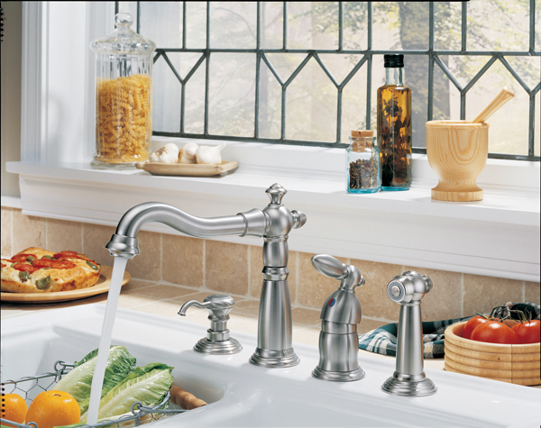 Fresno Distributing Company - Delta victorian kitchen faucet