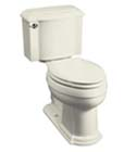 Devonshire® Comfort Height™ two-piece elongated toilet