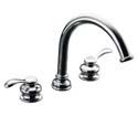 Fairfax® deck-mount bath faucet trim