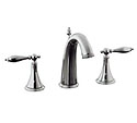 Finial® Traditional widespread lavatory faucet with lever handles
