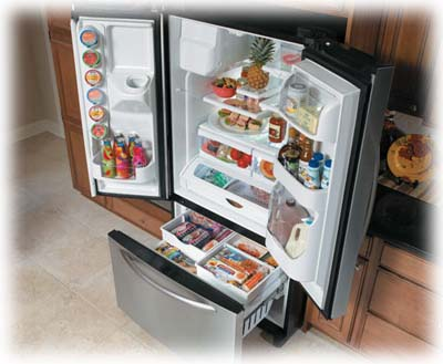 French Door Refrigeration