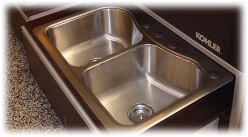 Kitchen Sinks at Fresno Distributing Company
