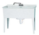 Aqua Glass 38 Gallon Laundry Tub