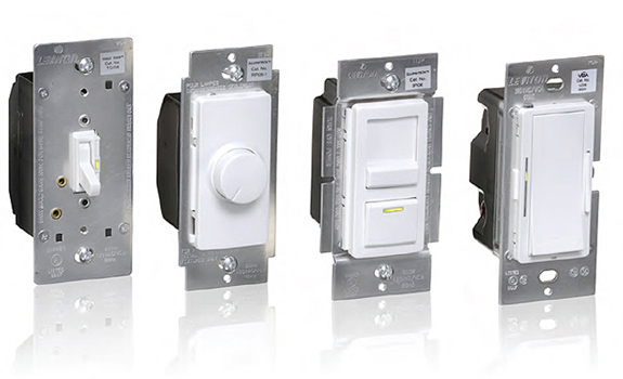 Leviton Dimmers and Switches