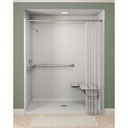 Image Gallery Handicap Shower Stalls