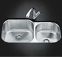 Undertone™ extra-large/medium undercounter kitchen sink