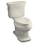 Bancroft® Comfort Height™ elongated toilet